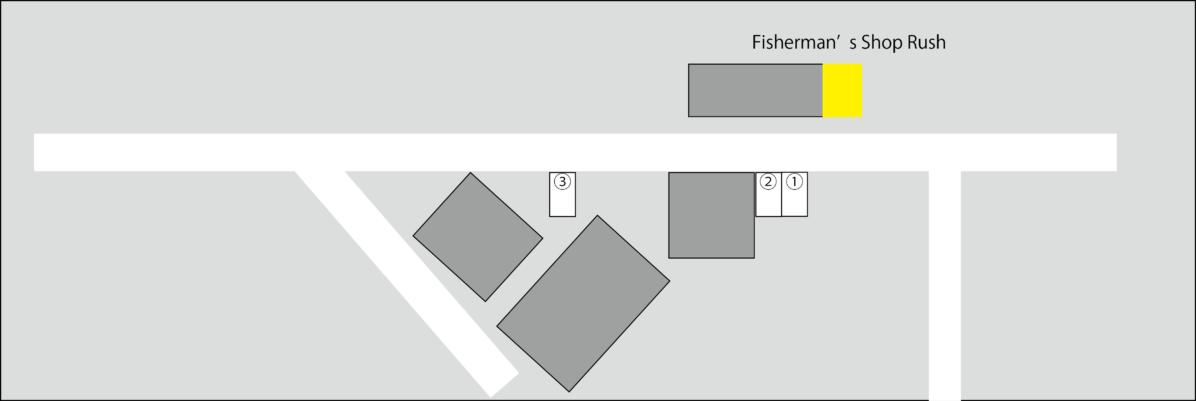 Rush ラッシュ 中古釣り具 釣具店 島根県 松江市 浜乃木 駐車場