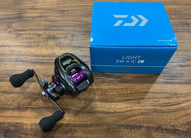 ダイワ LIGHT SW X IC-L 鯛ラバ イカメタル カウンター付き ベイトリール 船釣り