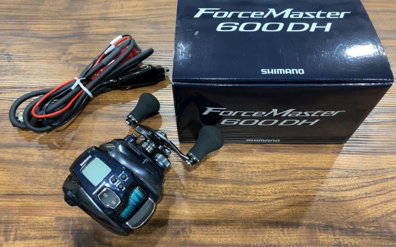 シマノ 20フォースマスター600DH 電動リール 船釣り