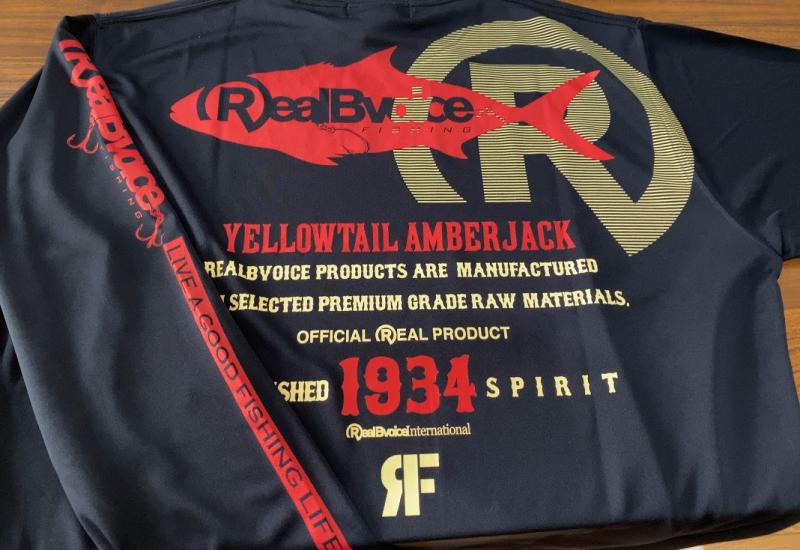 RealBvoiceFishing リアルビーボイス ロングスリーブTシャツ