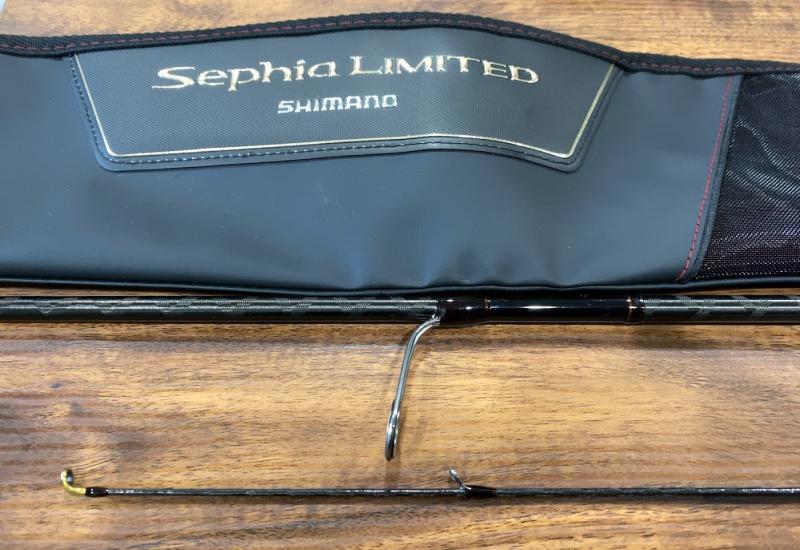 シマノ セフィア リミテッド S85ML エギング
