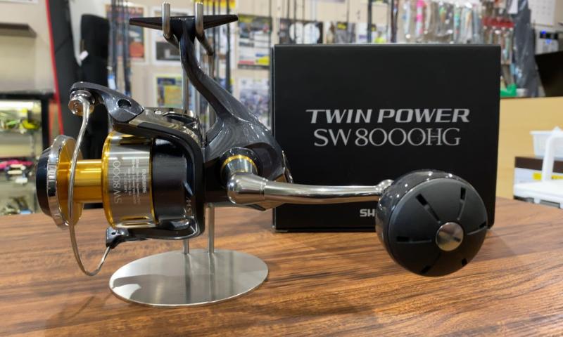 シマノ 15ツインパワーSW 8000HG オフショアキャスティング オフショアジギング ショアジギング