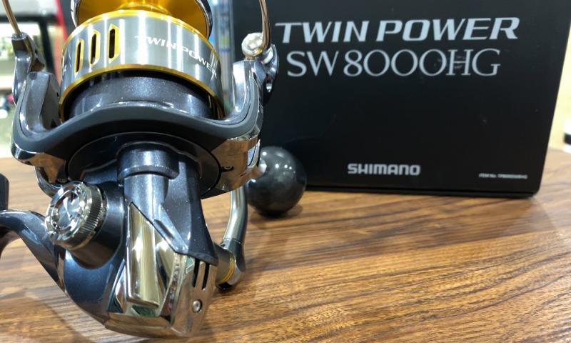シマノ 15ツインパワーSW 8000HG