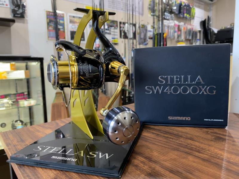 シマノ 13ステラSW4000XG ショアキャスティング オフショアライトジギング 根魚 青物