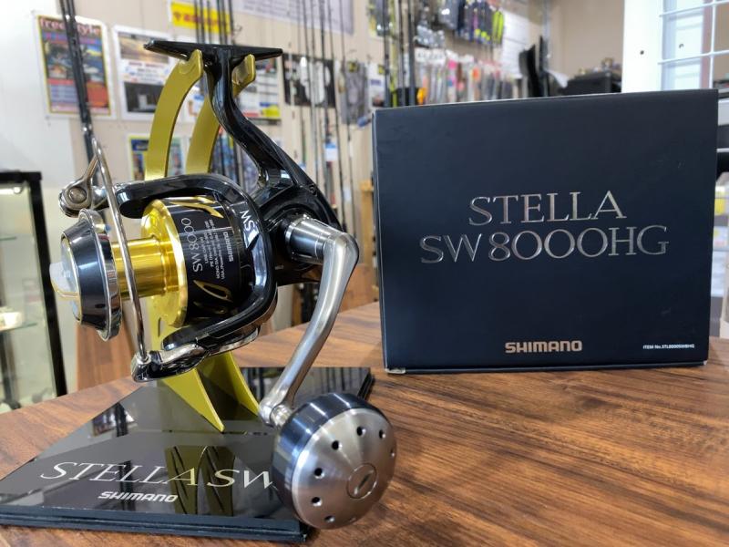 シマノ 13ステラSW8000HG ショアジギング オフショアジギング キャスティング 青物